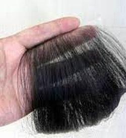 頭皮に直接貼り付けるタイプのヘアピース、髪の毛の介護、ヘアーラップの紹介画像です。